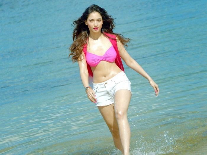 Tamanna Bhatia Hot Bikini Image Gallery, Images, Photos, Pics ...