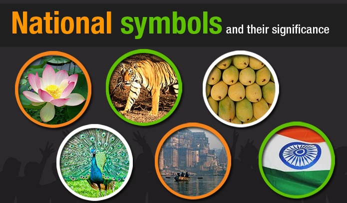 National Symbols Of India Animal Bird Emblem Fruit Flower