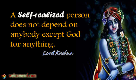 Lord Krishna Quotes Pleasing Lord Krishna Quotes  Welcomenri