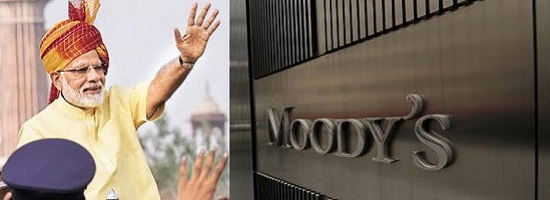 Moody's backs Modi, upgrades India's sovereign