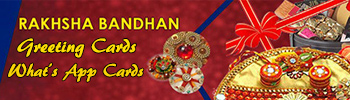 Rakshabandhan whats app greeting cards