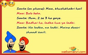 santa banta jokes in hindi santabanta ke jokes स त