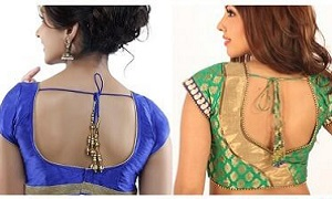 Backless Blouse Design | Designs For Backless Blouse